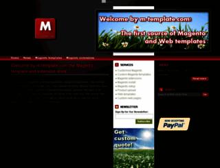 m-template.com screenshot