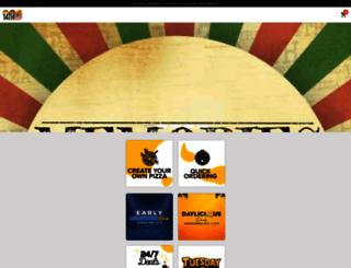 m.14thstreetpizza.com screenshot