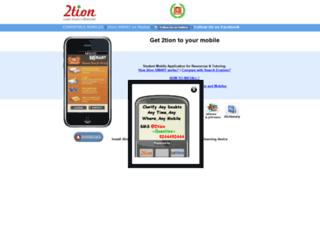 m.2tion.com screenshot