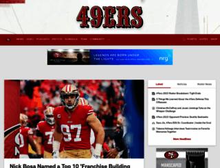 m.49ers.com screenshot