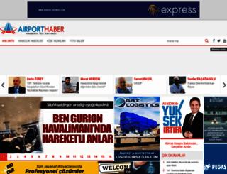 m.airporthaber.com screenshot
