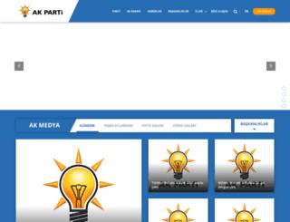 m.akparti.org.tr screenshot