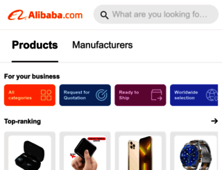 m.alibaba.com screenshot