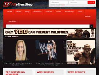 m.allwrestling.com screenshot