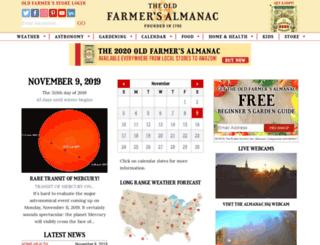 m.almanac.com screenshot