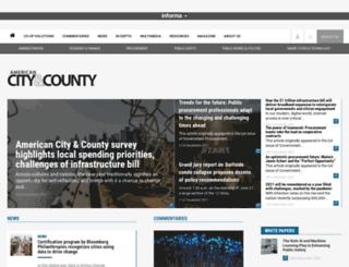 m.americancityandcounty.com screenshot