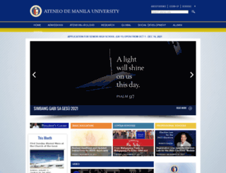 m.ateneo.edu screenshot