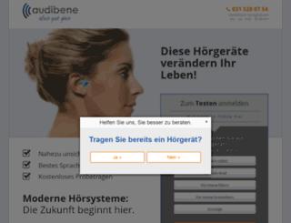 m.audibene.ch screenshot