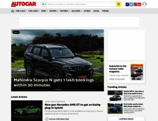 m.autocarindia.com screenshot