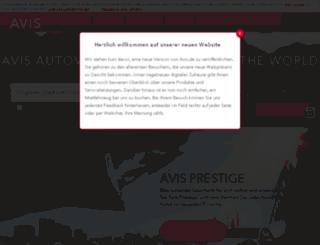 m.avis.de screenshot
