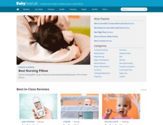 m.babygearlab.com screenshot