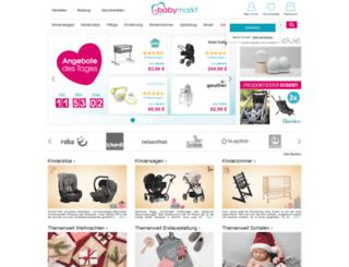 m.babymarkt.de screenshot
