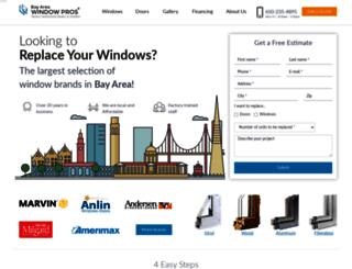 m.bayareawindowpros.com screenshot