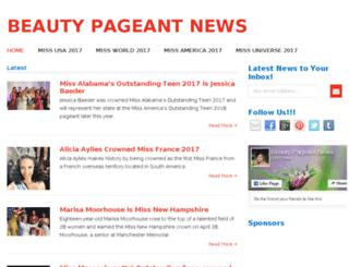 m.beautypageantnews.com screenshot