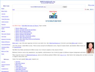 m.biblestudyguide.org screenshot