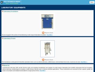 m.biotechlabequipments.com screenshot