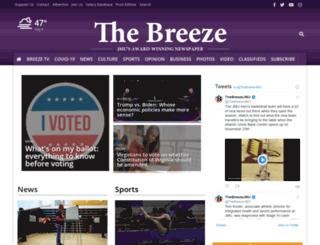 m.breezejmu.org screenshot