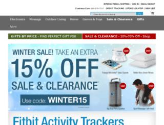 m.brookstone.com screenshot