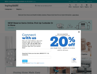 m.buybuybaby.com screenshot