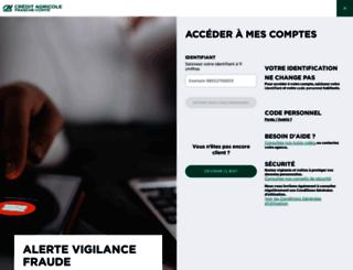 m.ca-franchecomte.fr screenshot
