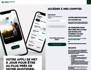 m.ca-lorraine.fr screenshot
