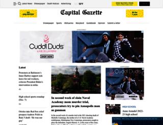 m.capitalgazette.com screenshot