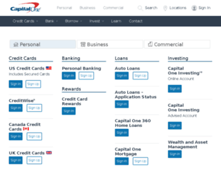 capitalone capital account sign banking personal access successful accessify