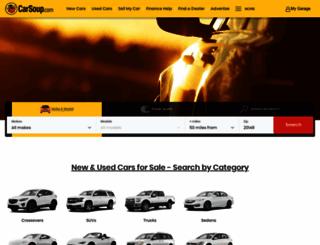 m.carsoup.com screenshot