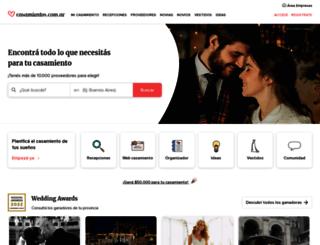 m.casamientos.com.ar screenshot