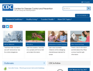 m.cdc.gov screenshot