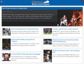 m.centralkynews.com screenshot