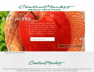 m.centralmarket.com screenshot