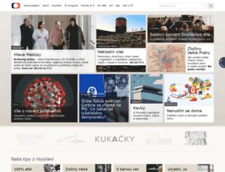 m.ceskatelevize.cz screenshot