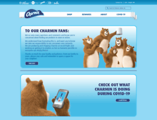 m.charmin.com screenshot