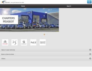 m.chartersgroup.com screenshot