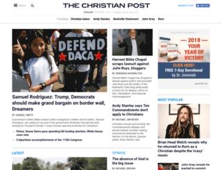 m.christianpost.com screenshot