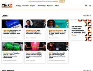 m.clickz.com screenshot