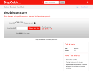 m.cloudchaserz.com screenshot