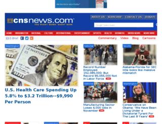 m.cnsnews.com screenshot