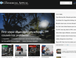 m.commercialappeal.com screenshot