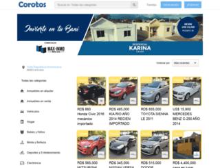 m.corotos.com.do screenshot