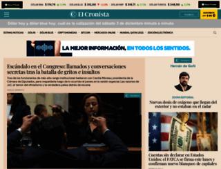 m.cronista.com screenshot