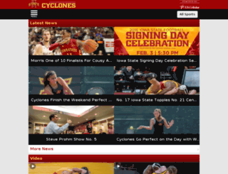 m.cyclones.com screenshot
