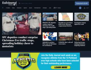 m.dailyjournalonline.com screenshot