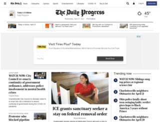 m.dailyprogress.com screenshot