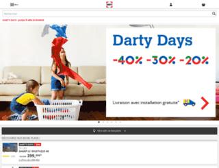 m.darty.com screenshot