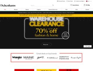 m.debenhams.com screenshot