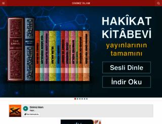 m.dinimizislam.com screenshot