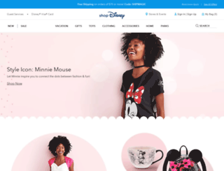 m.disneystore.com screenshot