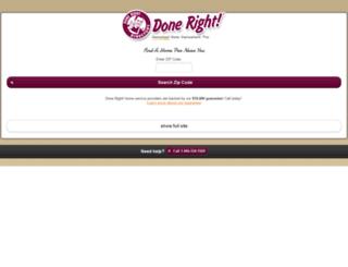 m.doneright.com screenshot